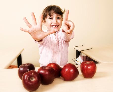 aprendendo a contar com as frutas